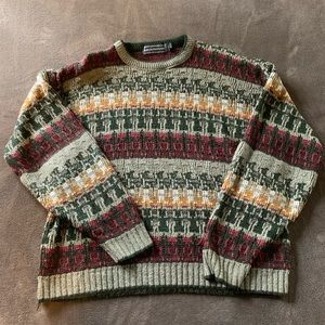 Vintage David Taylor Acrylic Sweater